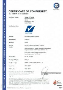 Certificate of Conformity - vPanel Precast Wall Panels ALC Panels