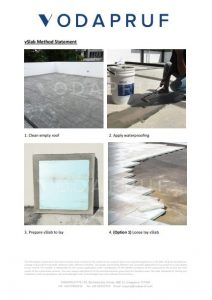 Installation Instructions for vSlab Precast Insulated Concrete Roof Slabs
