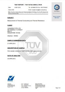 Thermal Conductivity & Resistance Report