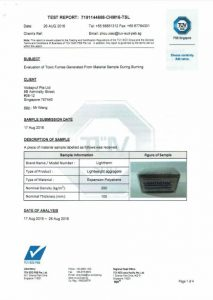 Toxicity Report Lightherm