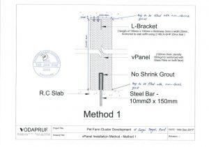 V Panel Installation Endorsed Detail
