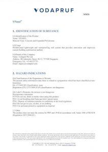 vPanel Materials Safety Data Sheet - Precast Wall Panels (ALC Panels)
