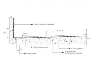 vSlab Project Blueprint 2 - Scupper Drain